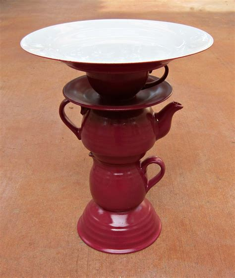 Diy Cake Stand With Teapot