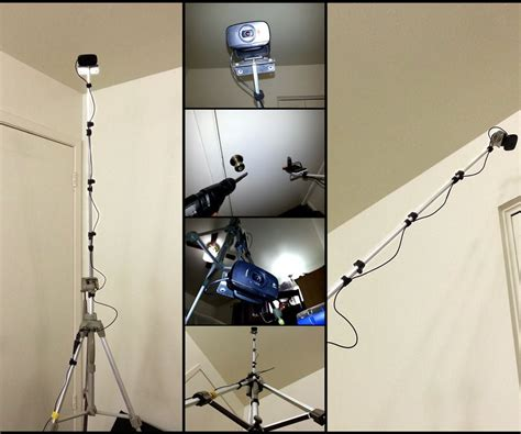 Diy Camera Tripod To Boom Stand