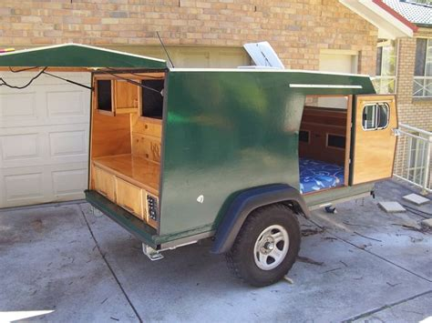 Diy Camp Box Trailer