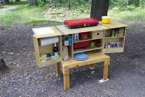 Diy Camp Kitchen Box Plans