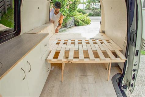 Diy Camper Bed Frame