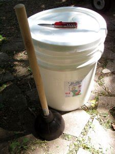 Diy Camping Clothes Washer