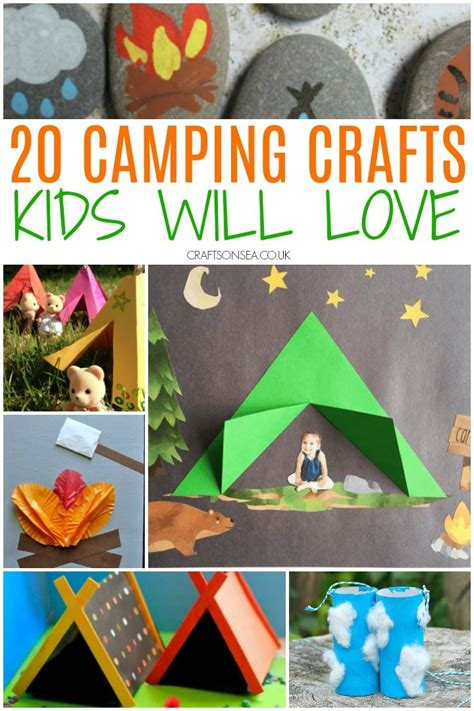 Diy Camping Themed Art Projects For Toddlers