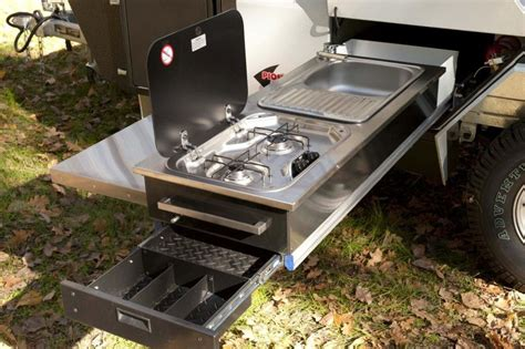 Diy Camping Trailer Kitchen