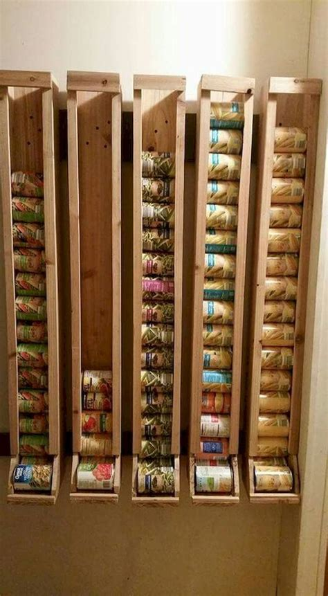 Diy Can Good Storage For Pantries