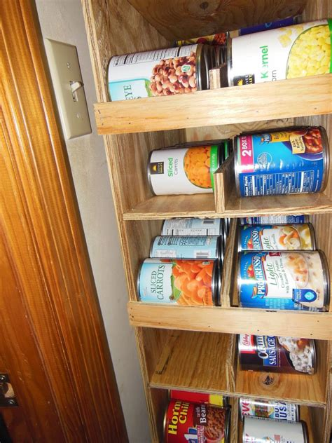 Diy Can Storage Racks For Pantry
