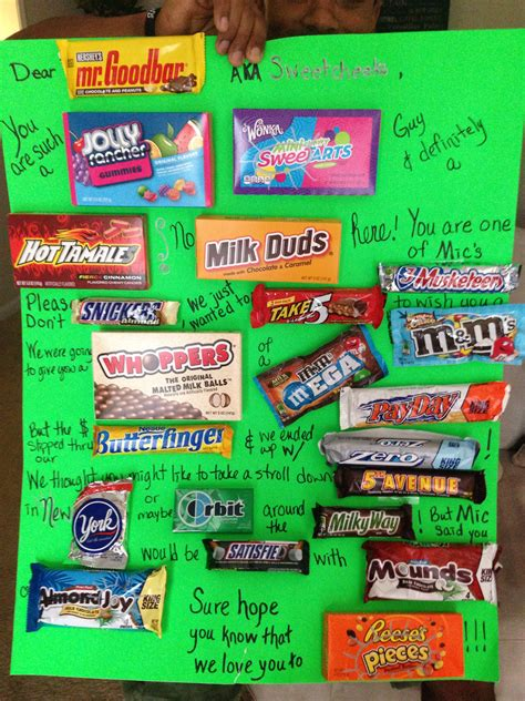 Diy Candy Card