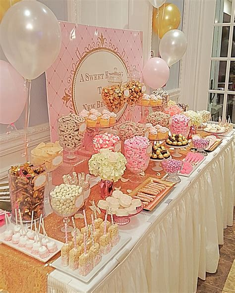 Diy Candy Tables For Baby Shower