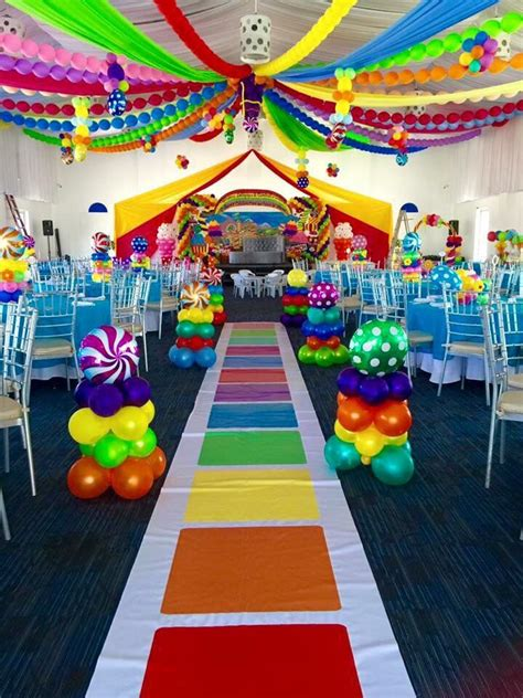 Diy Candyland Birthday Party Ideas