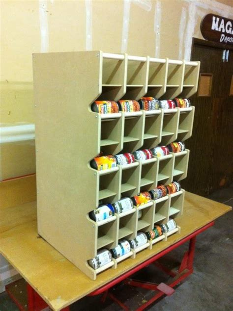 Diy Canned Food Storage Shelves