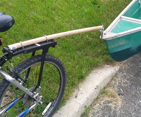 Diy Canoe Cart For Bike
