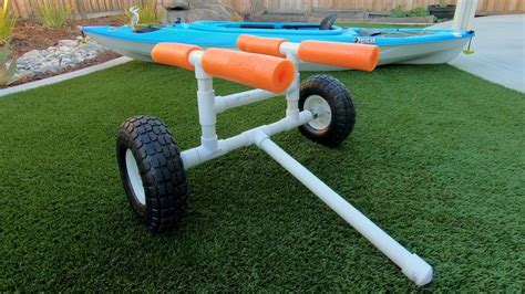 Diy Canoe Cart Plans