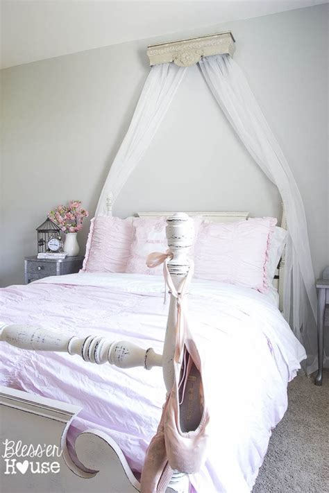 Diy Canopy Around Bed Shelves