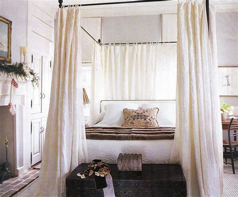 Diy Canopy Bed With Curtain Rods