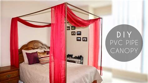 Diy Canopy Bed With Pvc Pipe