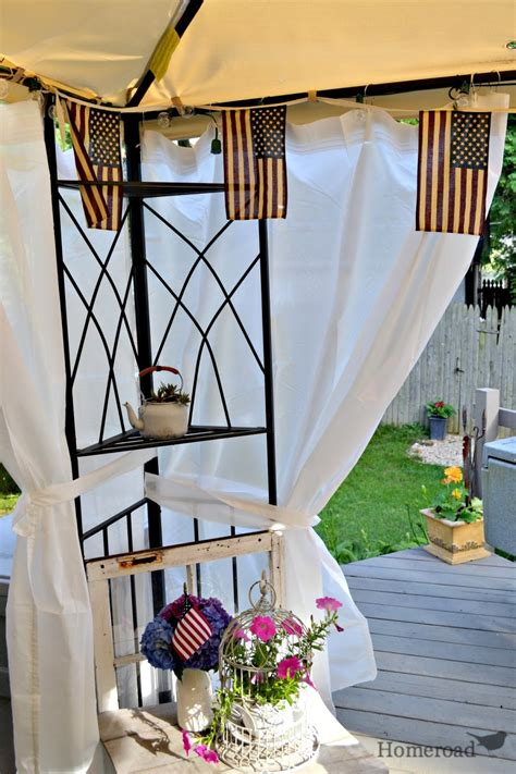 Diy Canopy With Curtains