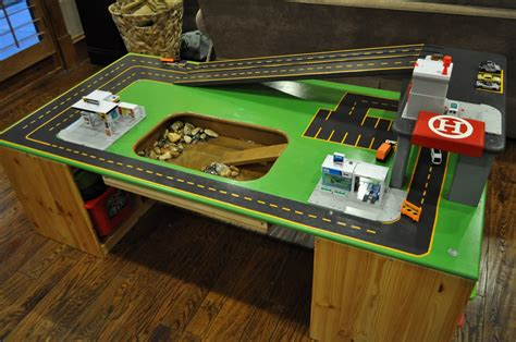 Diy Car Track Table