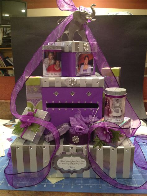 Diy Card Boxes For 70th Birthday Parties