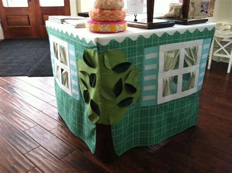 Diy Card Table Playhouses