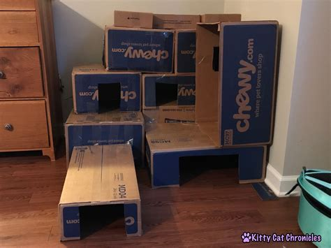 Diy Cardboard Box Fort 24