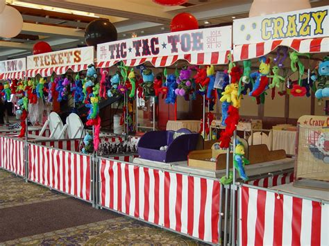 Diy Carnival Booth Youtube