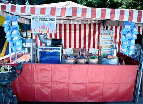 Diy Carnival Concession Stand