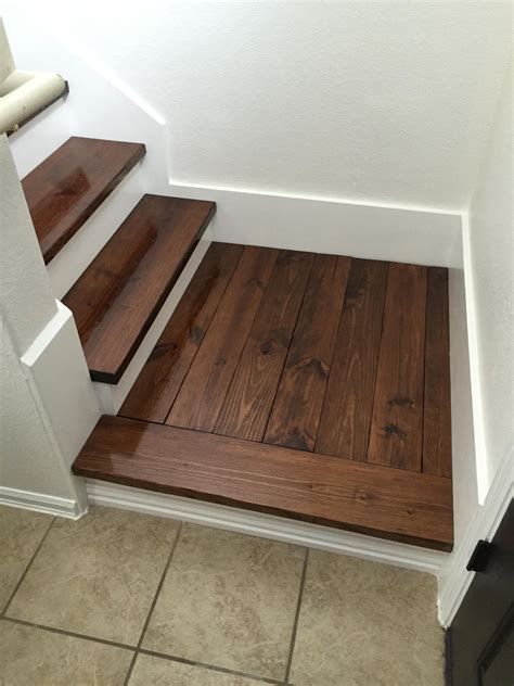 Diy Carpet And Wood Stairs