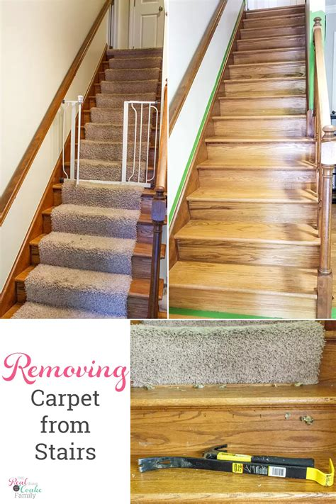 Diy Carpet Removal Stairs