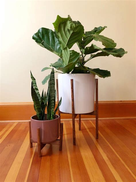 Diy Case Study Planter Stand
