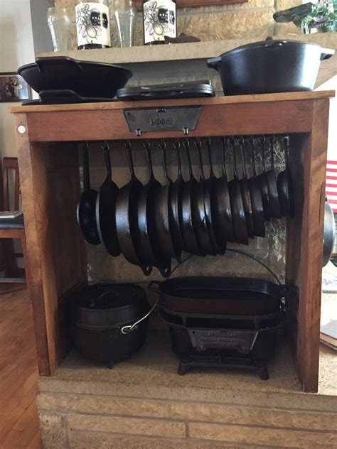 Diy Cast Iron Rack
