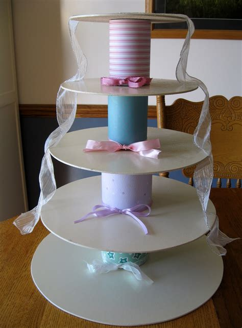 Diy Castle Cupcake Stand