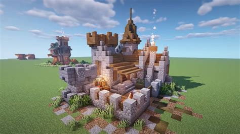 Diy Castle For Minecraft