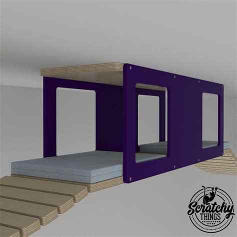 Diy Cat Bed From Box To Ceiling