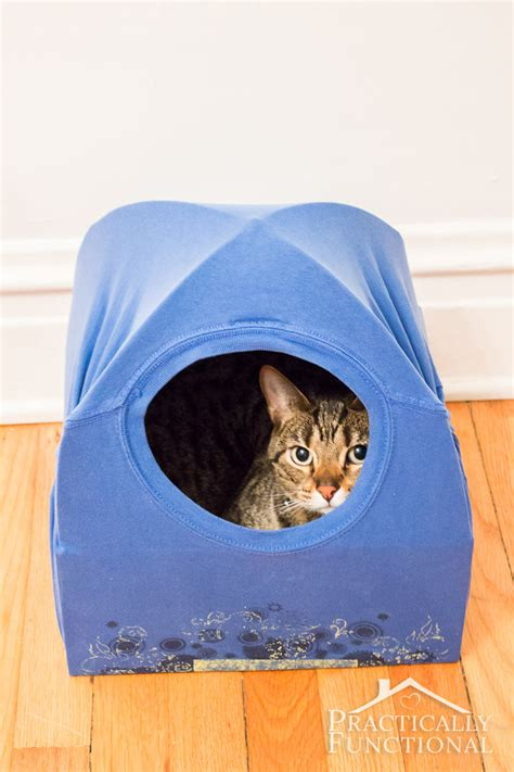 Diy Cat Bed Tent