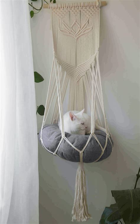 Diy Cat Bed With Hangers
