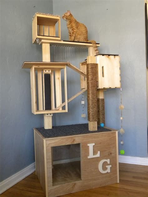 Diy Cat Condo Scratcher