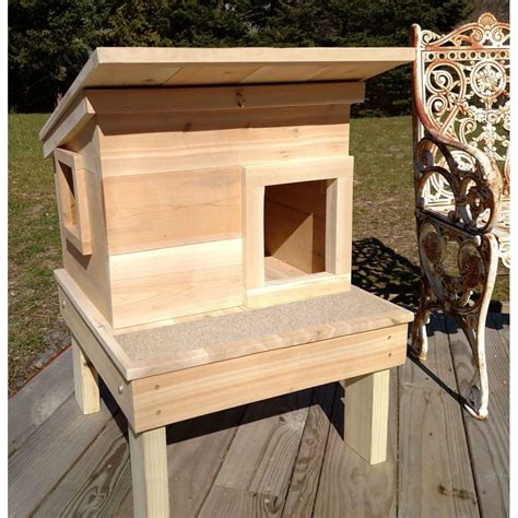 Diy Cat House Outdoor Cedar