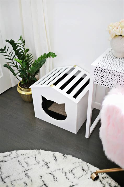 Diy Cat Litter Box Cover Mess