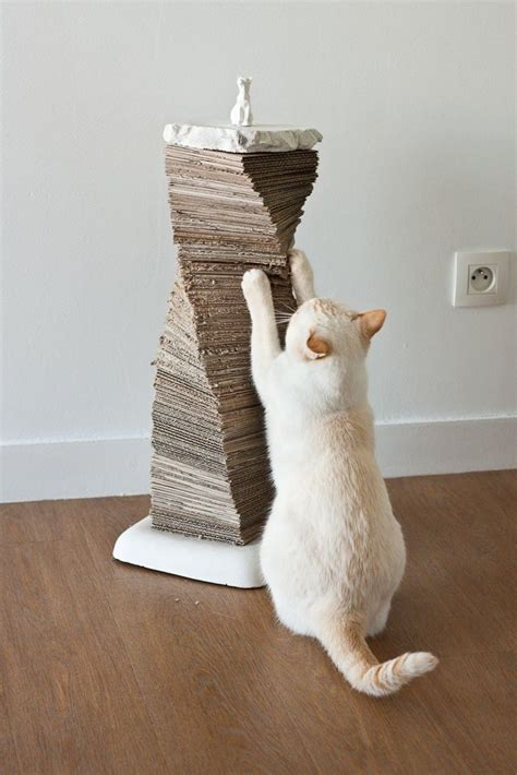 Diy Cat Scratching Post With Ice Chest