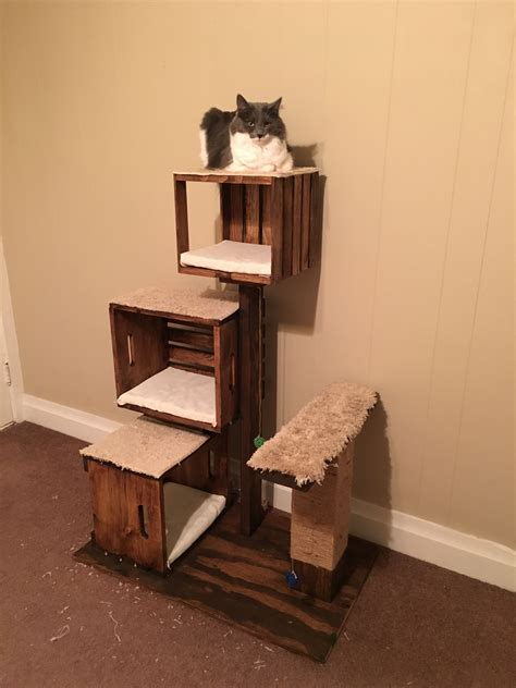 Diy Cat Tower Stand