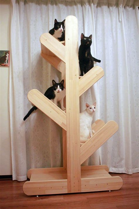 Diy Cat Tree Condo Wood 2x4 Crafts