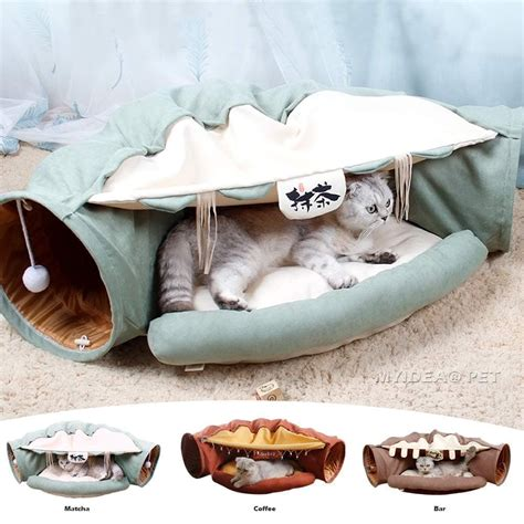 Diy Cat Tunnel Bed