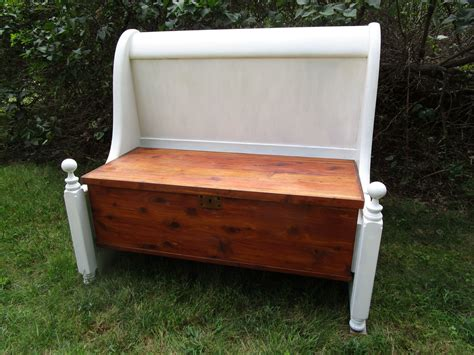 Diy Cedar Chest Into Bench