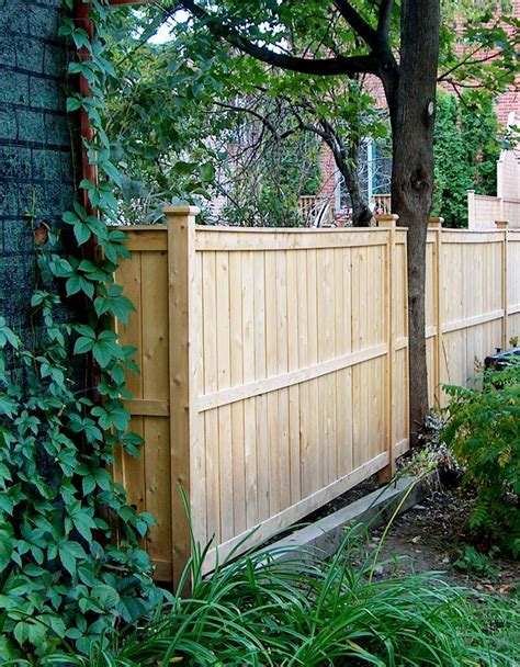 Diy Cedar Fence Designs