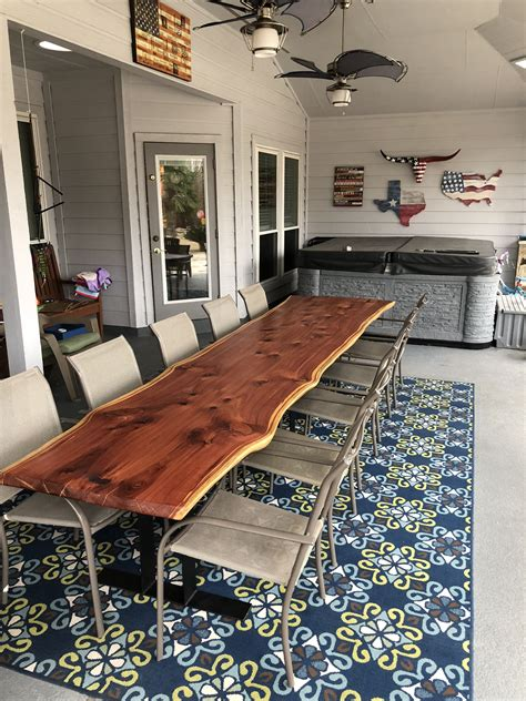 Diy Cedar Kitchen Table