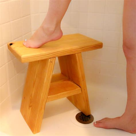 Diy Cedar Shower Stool