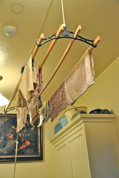 Diy Ceiling Mounted Clothes Drying Rack