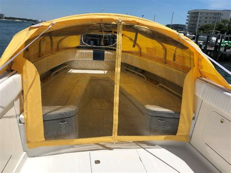 Diy Center Console Boat Tent