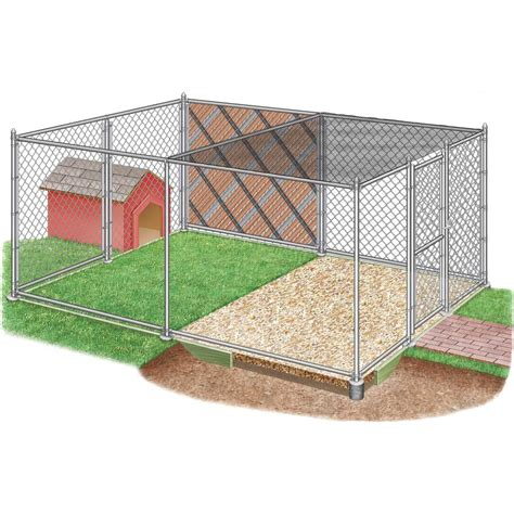 Diy Chain Link Dog Kennel Plans