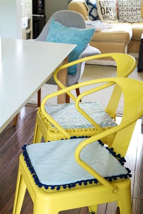 Diy Chair Cushion No Sew